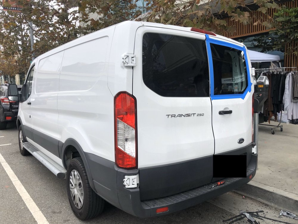 EPIC AUTO GLASS REPAIR FOR FORD TRANSIT CONNECT 150 250 350